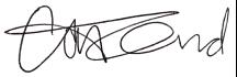 Signature of Catherine Gund